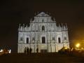 夜の聖ポール天主堂跡