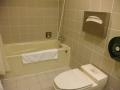 エバートランジットホテルのバスルーム