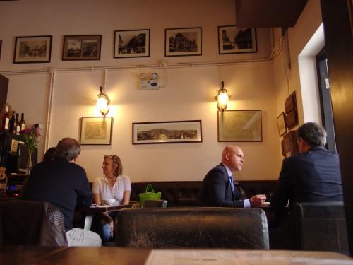 いいカフェ発見!Cathedral Cafe